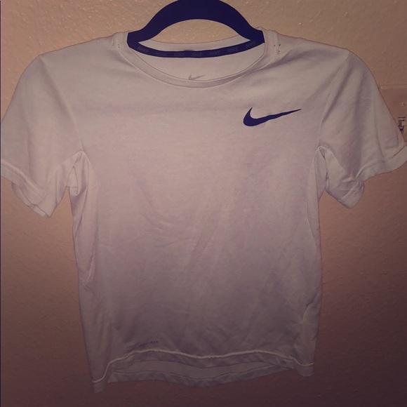a3e7ad5a1 Nike Tops   Light Grey Dri Fit Tee   Poshmark